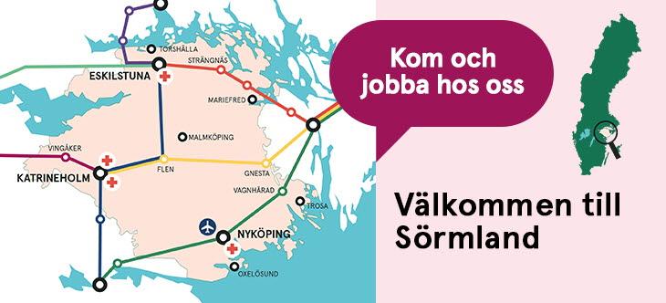 Jobb och utbildning - Region Sörmland